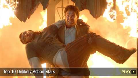 Top 10 Unlikely Action Stars