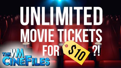 AMC to SUE MoviePass Over $10 All You Can Watch Subscription – The CineFiles Ep. 34