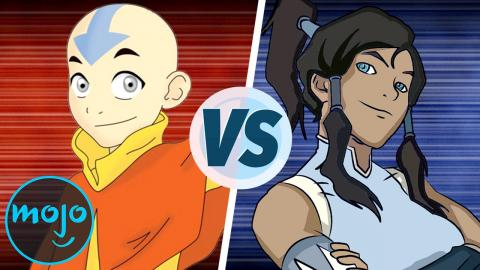 The Last Airbender Vs The Legend Of Korra