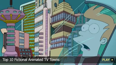 Top 10 Fictional Animated TV Towns