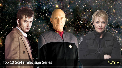 Top 10 Greatest Sci-Fi Television Series