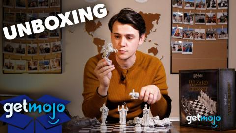 Harry Potter Wizard Chess Set Unboxing