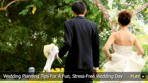 Wedding Planning Tips For A Fun, Stress-Free Wedding Day