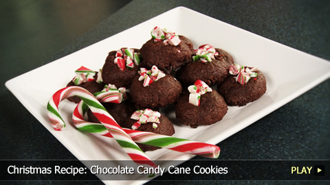 Christmas Recipe: Chocolate Candy Cane Cookies