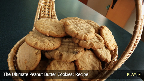 The Ultimate Peanut Butter Cookies: Recipe