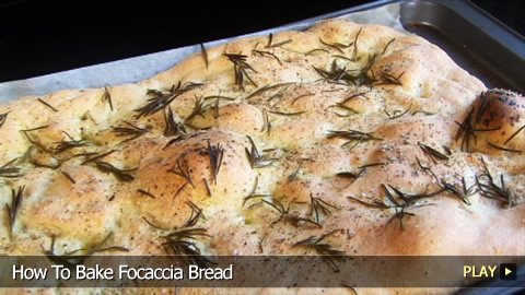 How To Bake Focaccia Bread