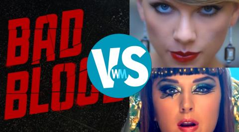 Katy Perry Vs. Taylor Swift