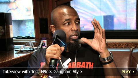 Interview with Tech N9ne: Gangnam Style