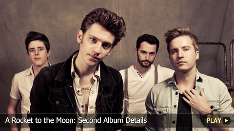 A Rocket to the Moon: Second Album Details