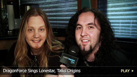 DragonForce Sings Lonestar, Talks History