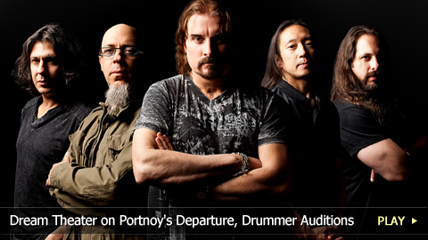 Dream Theater's John Petrucci on Portnoy's Departure, Drummer Auditions