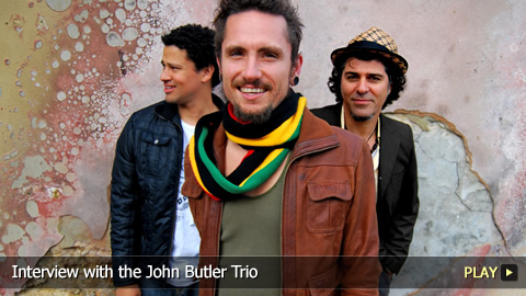 Interview with the John Butler Trio