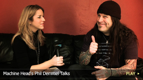 Machine Head's Phil Demmel Talks
