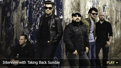 Interview with Taking Back Sunday