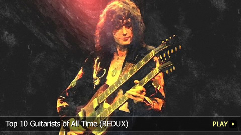 Top 10 Guitarists of All Time (REDUX)