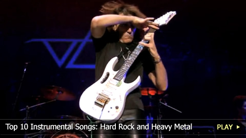 Top 10 Instrumental Songs: Hard Rock and Heavy Metal