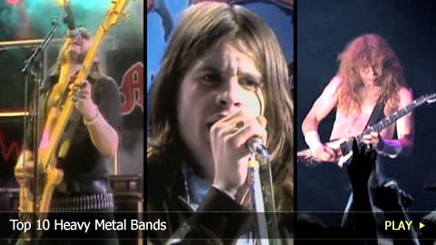 Top 10 Heavy Metal Bands