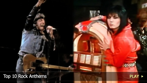 Top 10 Rock Anthems