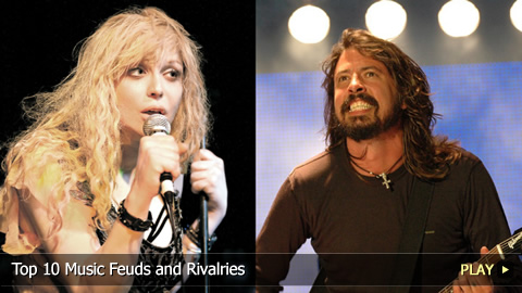 Top 10 Music Feuds and Rivalries
