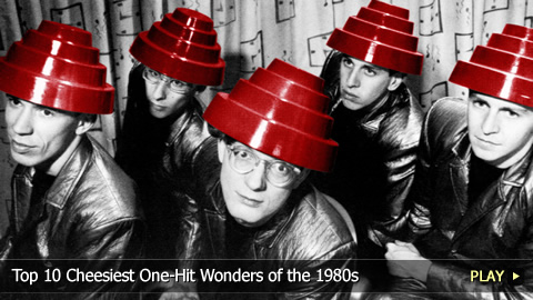 Top 10 Cheesiest One-Hit Wonders of the 1980s