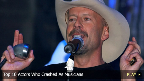 Top 10 Actors Who Crashed As Musicians