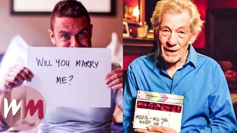 Top 10 Celebs Who Helped People Pop the Question