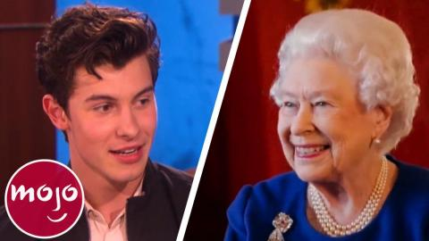 Top 10 Hilarious Celeb Encounters with the Royal Family