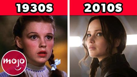 The 100-Year Evolution of Movie Heroines