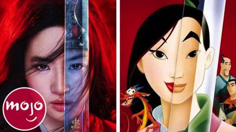 Top 10 Differences Between Mulan 1998 Mulan 2020 Watchmojo Com