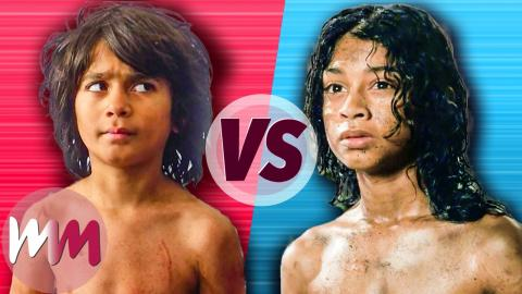 The Jungle Book (2016) VS Mowgli (2018)