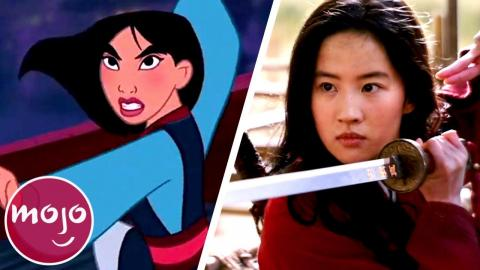 Top 10 Differences Between Mulan (1998) & Mulan (2020)