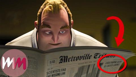 Top 10 The Incredibles Easter Eggs You Didn't Notice