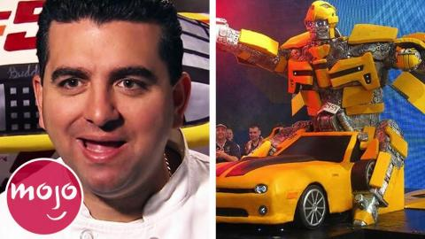 Top 10 Craziest Cakes on Cake Boss