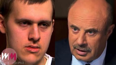 Top 10 Cringiest Dr  Phil Moments | WatchMojo com