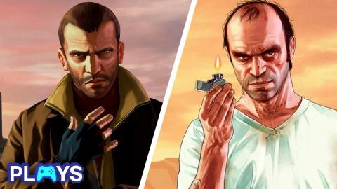 Every GTA Protagonist Ranked