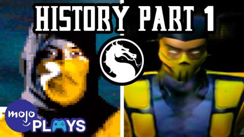 History of Mortal Kombat Part 1