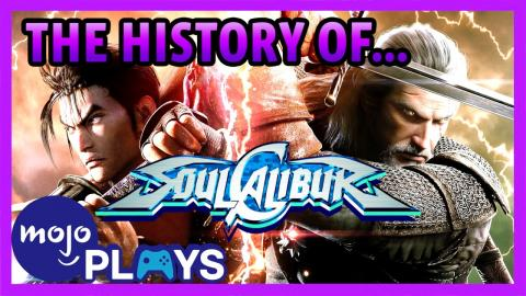 Top 10 Soul Calibur Characters | WatchMojo com