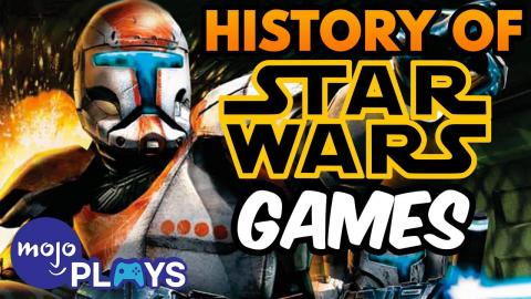 The Complete History of Star Wars Games | MojoPlays