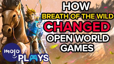 How Zelda: Breath of The Wild Changed Open World Games