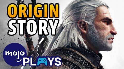 Origins of Geralt of Rivia - The Witcher's White Wolf