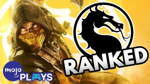 Every Mortal Kombat Game Ranked from Worst to Best