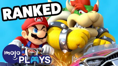 Ranking ALL the Mario Kart Games - MojoPlays