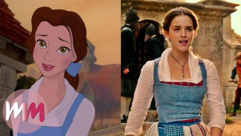 Top 10 Differences Between 1991 and 2017 Beauty and the Beast