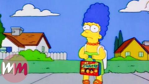 Top 10 Marge Simpson Moments