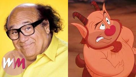 Top 10 Celebs You Didn't Know Inspired Disney Characters