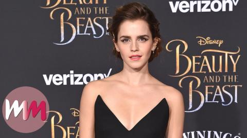Top 5 Emma Watson Beauty and the Beast Red Carpet Outfits