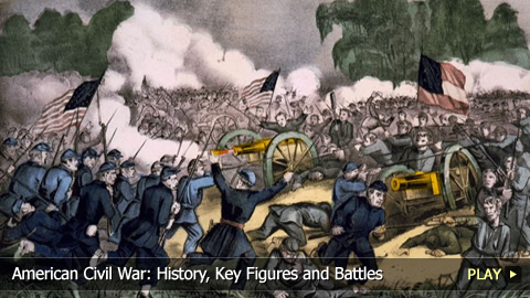American Civil War: History, Key Figures and Battles