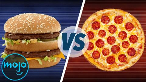 Best Food: Burgers Vs Pizza