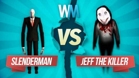 Slenderman vs. Jeff the Killer: Creepypasta Battle