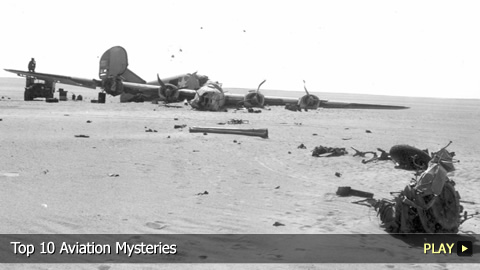 Top 10 Aviation Mysteries